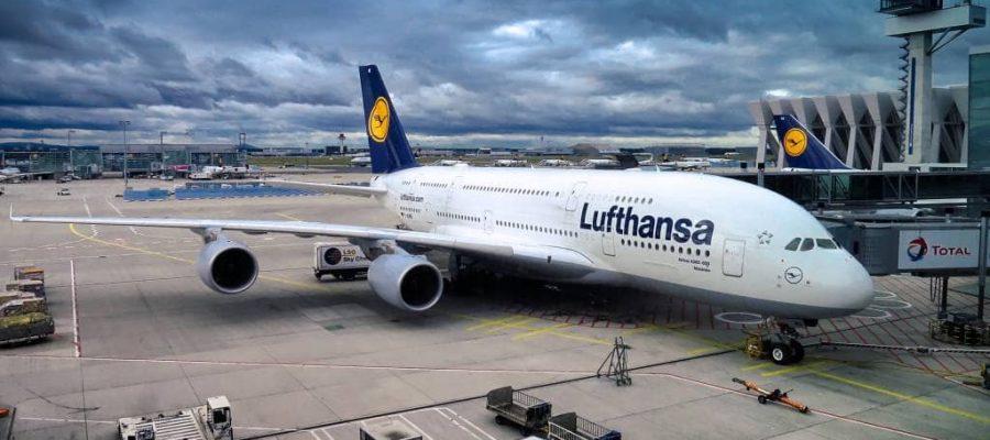 Die Ecuador Flüge in einem Lufthansa Airbus sind sehr komfortabel