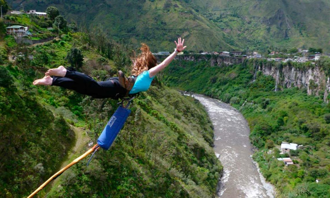 Bungee-Jumping - Ecuador Reisen - Aktivtouren und Abenteuer