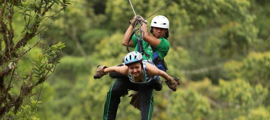 Zip-Lining - Ecuador Reisen - Aktivtouren und Abenteuer