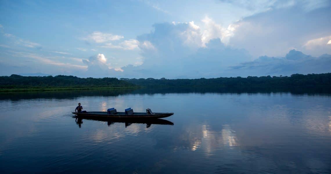 Die Idylle des Flusses Napo in der Abendämmerung - Top 10 Sehenswürdigkeiten im Amazonasgebiet