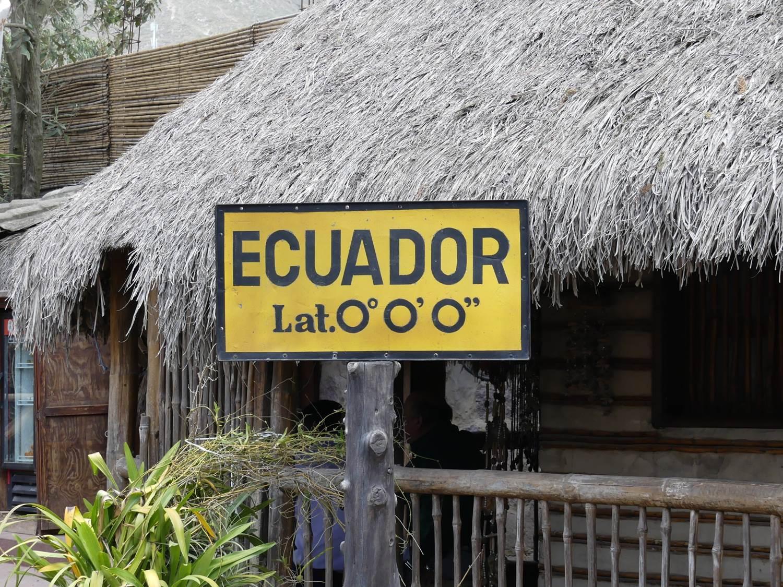 Am Mittelpunkt der Erde - Der Äquator in Ecuador