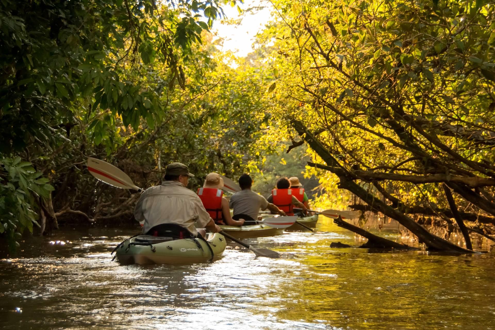 Kajak-Touren durch den Amazonas - Ecuador Reisen - Aktivtouren und Abenteuer