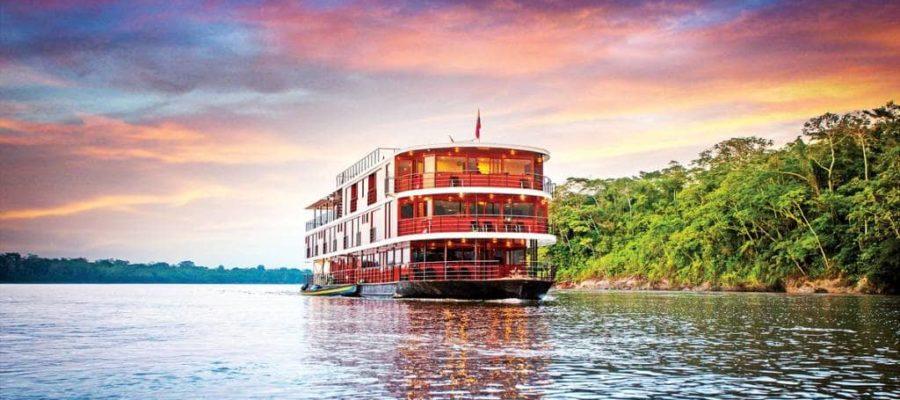 Sehr stilvoll reisen auf dem Flussschiff Anakonda - Top 10 Sehenswürdigkeiten im Amazonasgebiet
