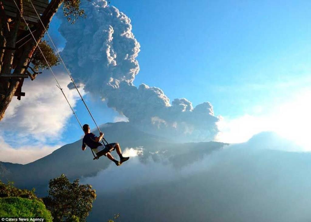Schaukeln bis in den Himmel - Ecuador Reisen - Aktivtouren und Abenteuer