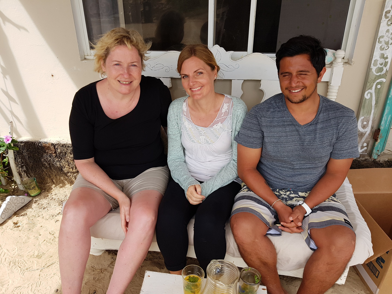 Galapagos PRO Kundenbetreuerin Rebekka Franke auf der Insel Isabela