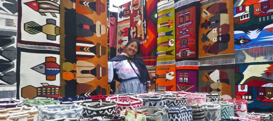 Vielfältige Farben und Formen - Shopping- und Einkaufsmöglichkeiten in Ecuador