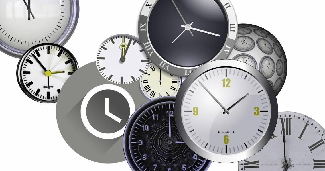 Zeitzonen in Ecuador und den Galapagos-Inseln