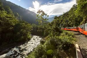 Durch die Andenlandschaft von Ecuador - Reisen mit dem Zug