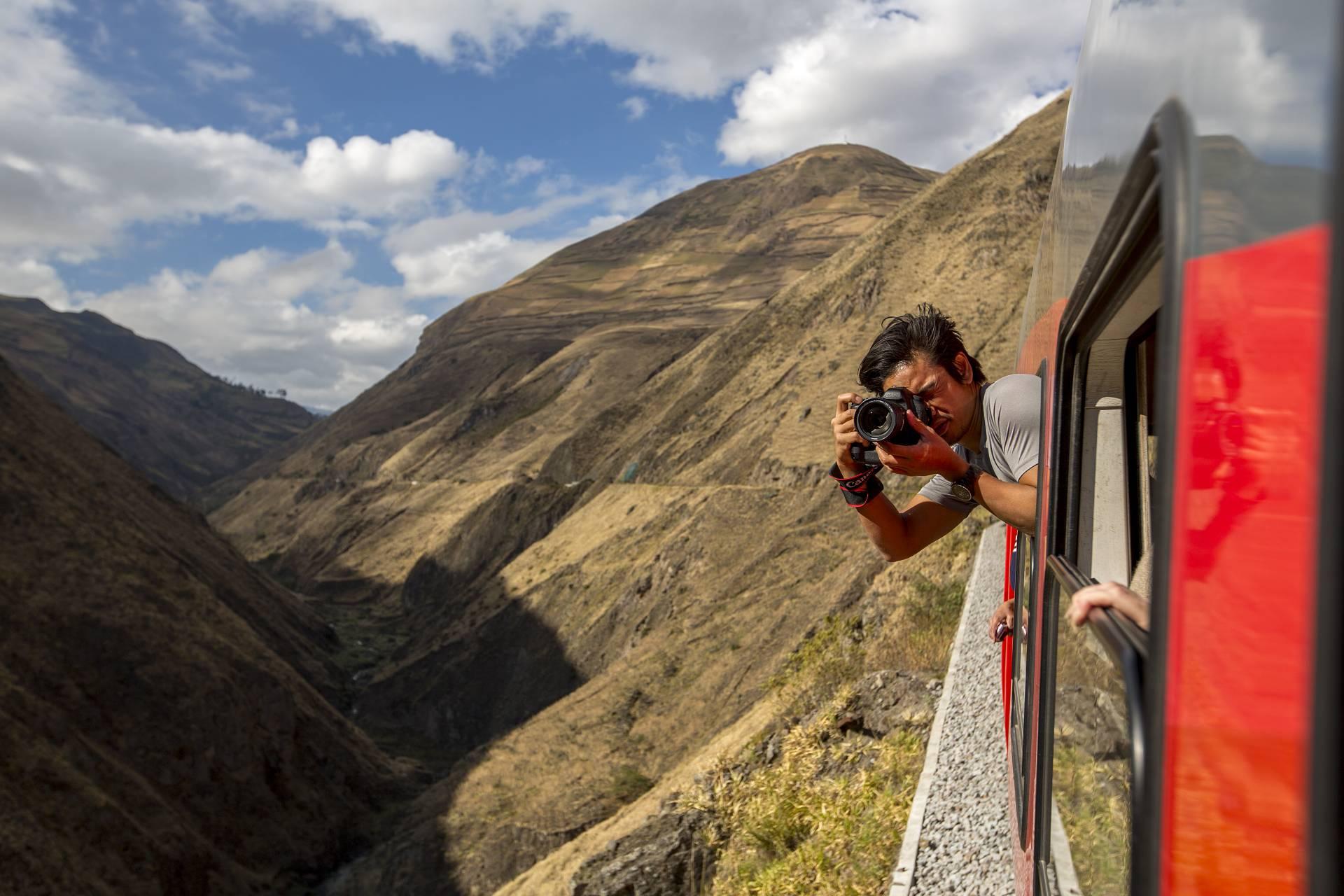 Vulkane vom Zug aus betrachten - Die beeindruckende Weite Ecuadors - Reisen im Garten Eden