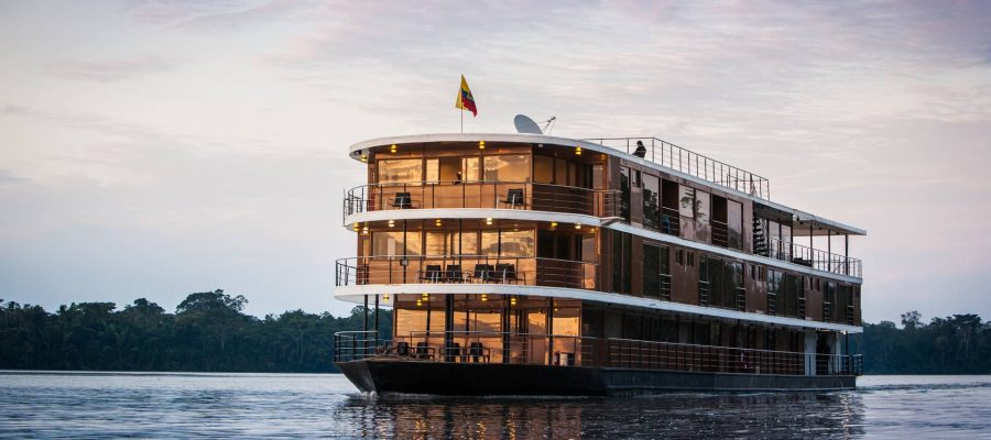 Das Flussschiff Anakonda - Ecuador & Galapagos Luxus-Reisen