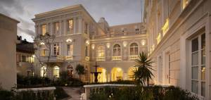 Garten des Kolonialhotels Casa Gangotena - Ecuador & Galapagos Luxus-Reisen