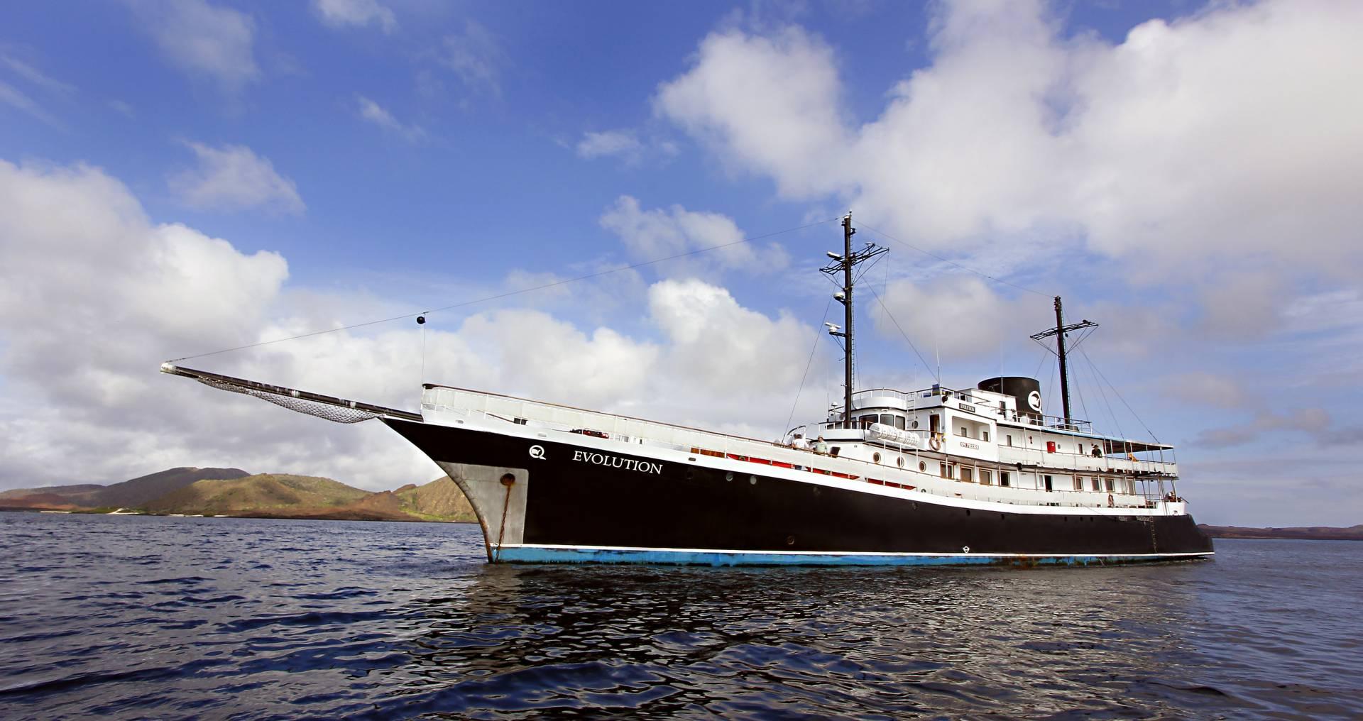 """Historisches Kreuzfahrtschiff """"Evolution"""" - Ecuador & Galapagos Luxus-Reisen"""