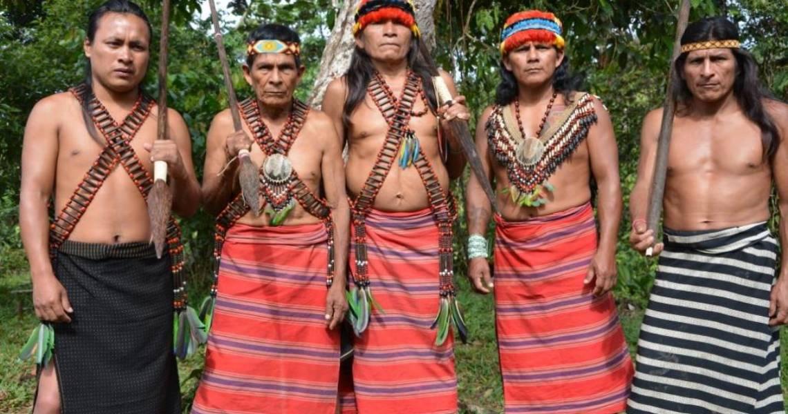 Shuar-Krieger - Ecuador-Reise mit Aufenthalt beim Schamanen