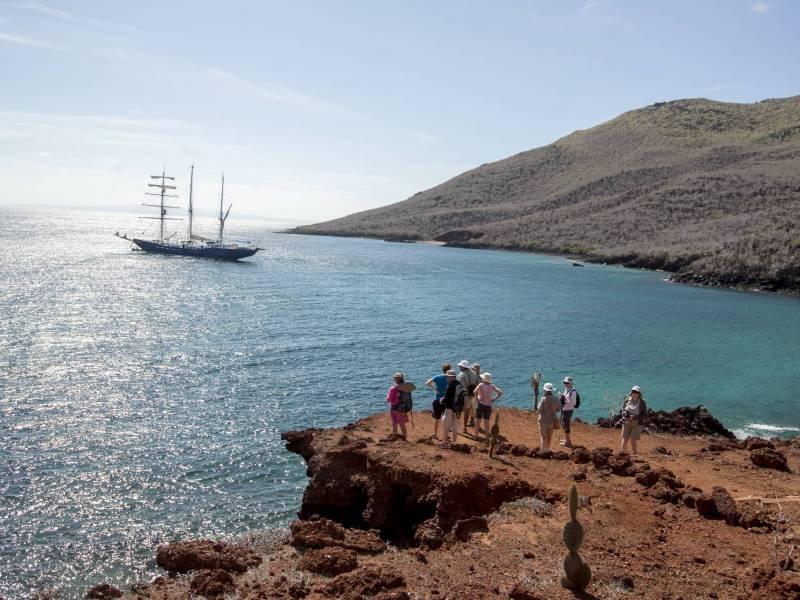 Galapagos-Kreuzfahrt Mary Anne - Inselausflug