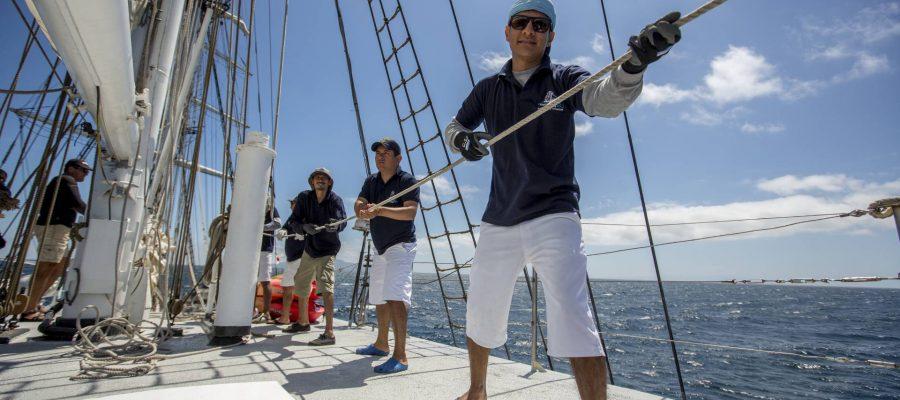Galapagos-Kreuzfahrt Mary Anne - Crew
