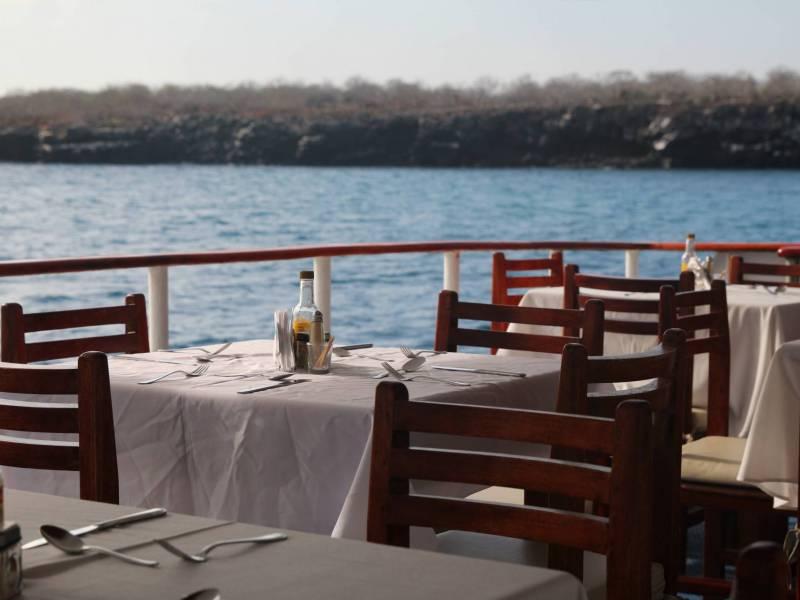 Galapagos-Kreuzfahrt - Millenium Speisesaal