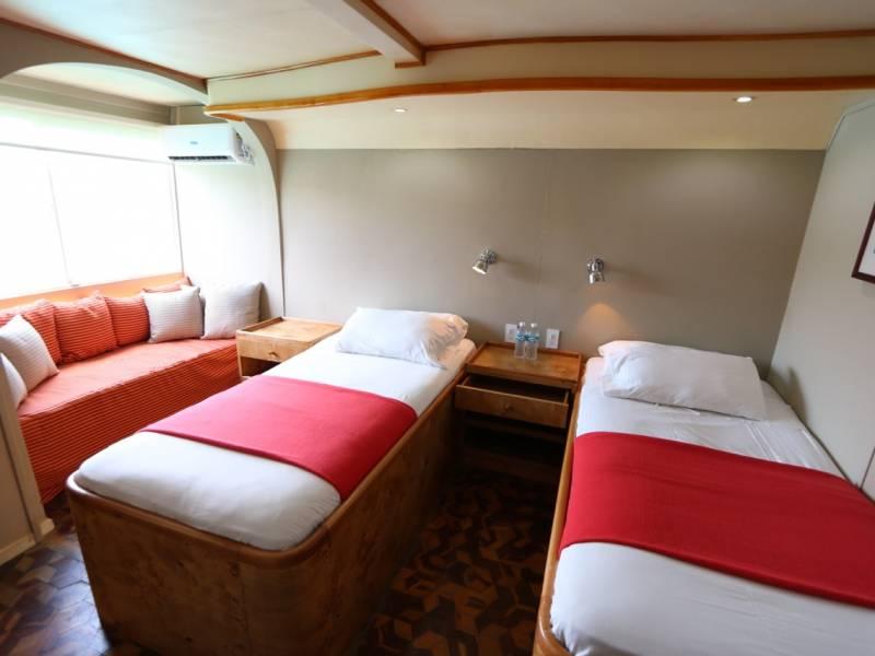 Galapagos-Kreuzfahrt - Doppelkabine auf der Millenium