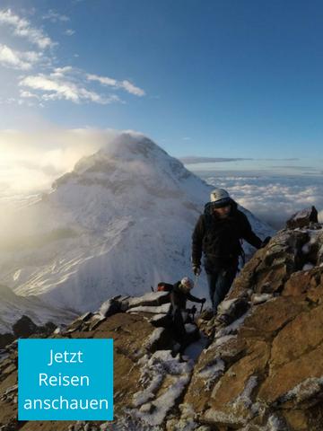 Ecuador Reisen Bergsteigen - Stürmen Sie den Gipfel!