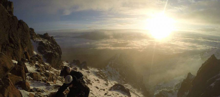 Ecuador Reisen Bergsteigen - Atemberaubende Aussichten beim Aufstieg