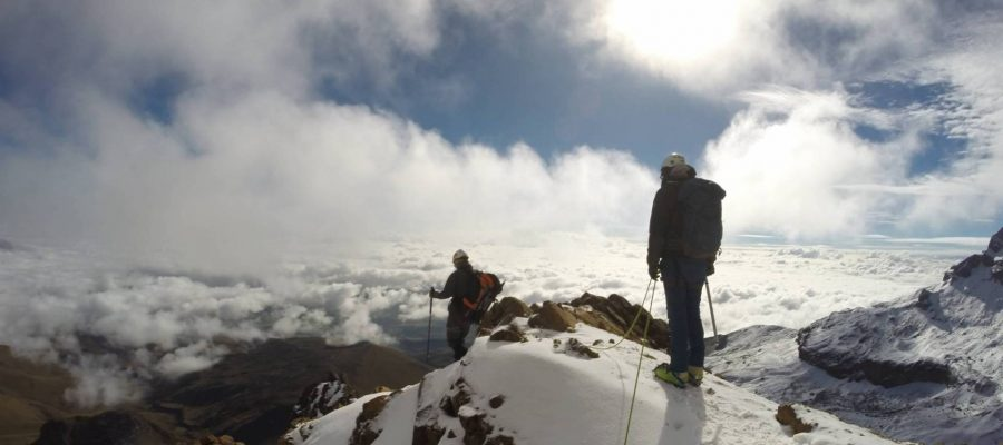 Bergsteigen in Ecuador - Abenteuerreisen in Ecuador