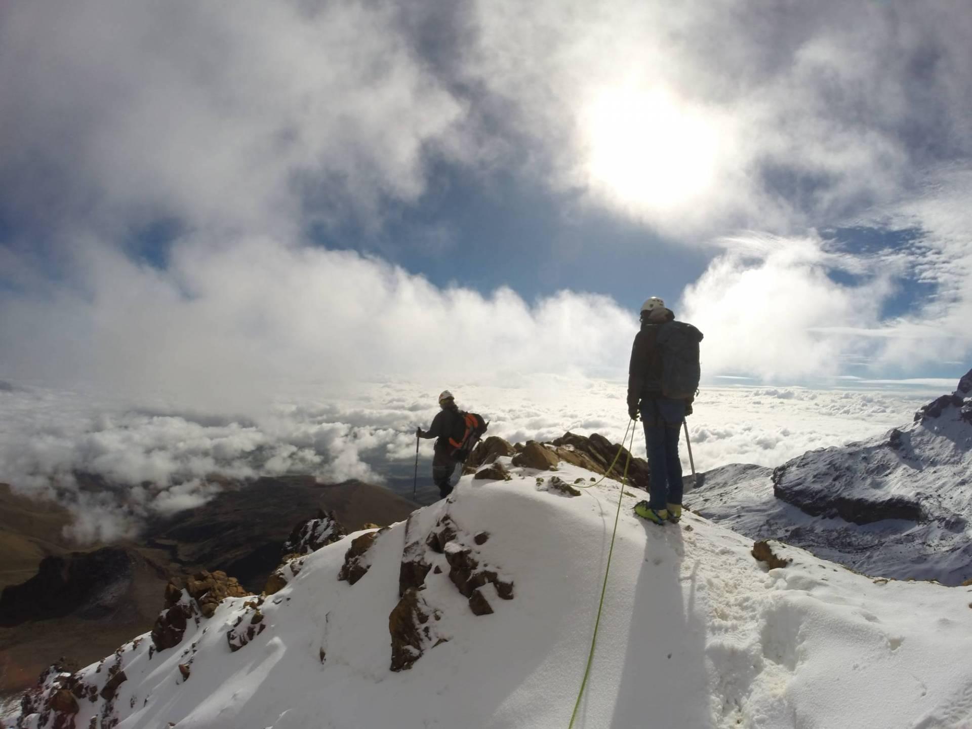 Ecuador Reisen Bergsteigen - Mit ausgebildeten Guides den Gipfel erklimmen