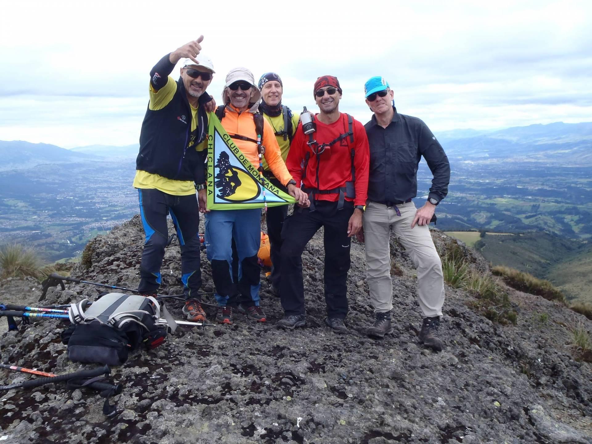 Ecuador Reisen Bergsteigen - Gemeinsam auf den Berg