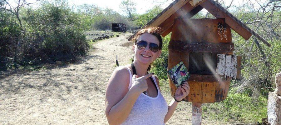 Briefe von der Post Office Bay auf der Galapagos_Insel Floreana verschicken