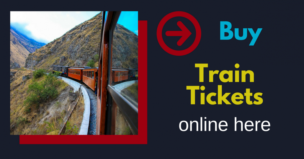 Book here train tickets for Ecuador