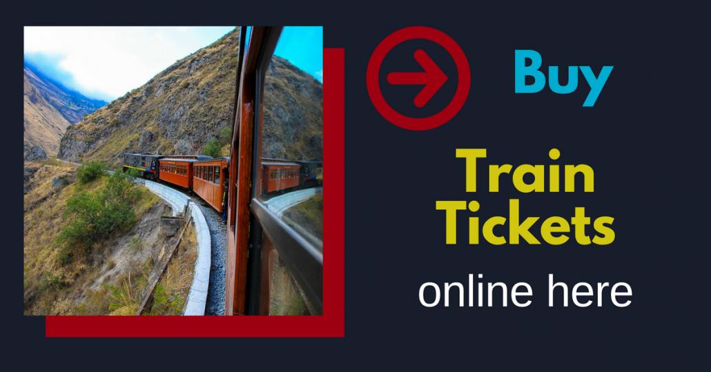 Book here train tickets for Ecuador