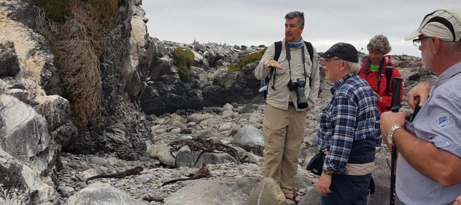 Geschulte Naturführer erklären Ihnen die imposante Pflanzen- und Tierwelt auf einer Ecuador & Galapagos-Gruppenreise