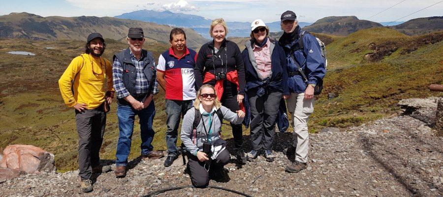 Seien Sie aktiv während einer Ecuador-Galapagos-Gruppenreise