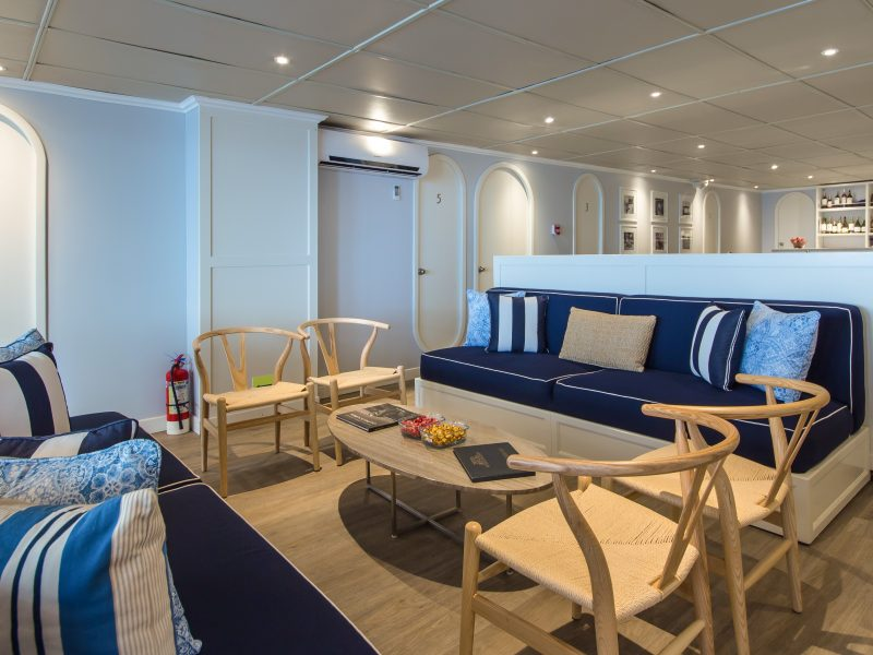 Galapagos-Kreuzfahrt Archipell I Lounge