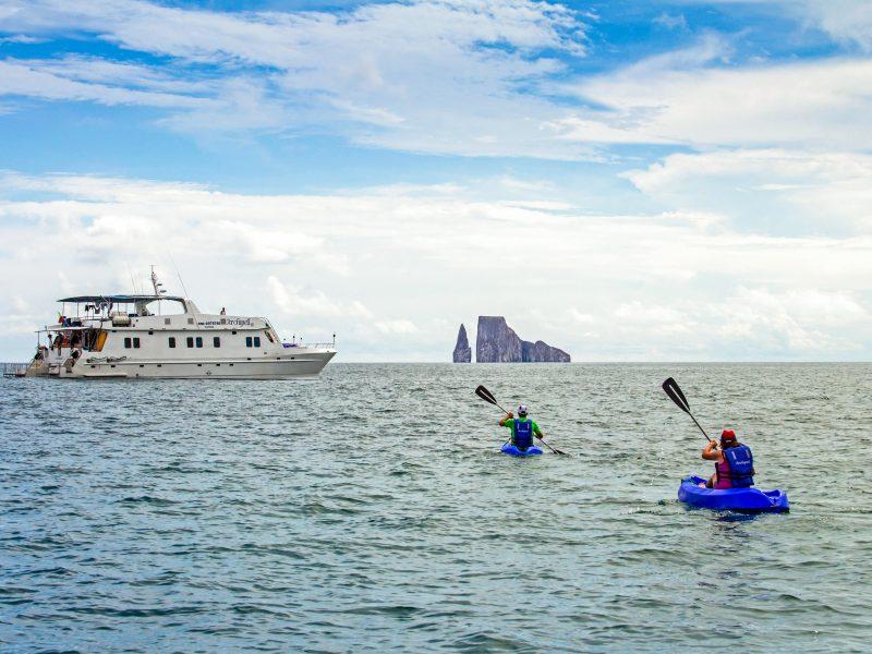 Galapagos-Kreuzfahrt Archipell I Kajakausflug