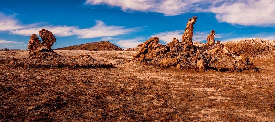 Tolle Felsformationen in der Atacama-Wüste während Ihrer Südamerika-Reise