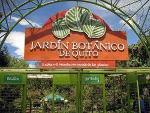 Quito Sehenswürdigkeit - der Botanische Garten
