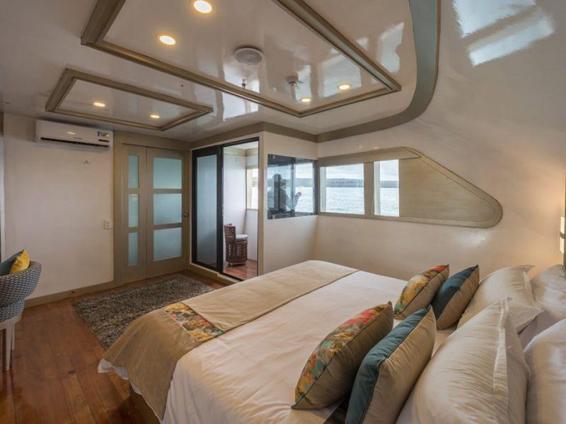 Galapagos-Kreuzfahrt Seastar Journey - Doppelkabine mit privaten Balkon