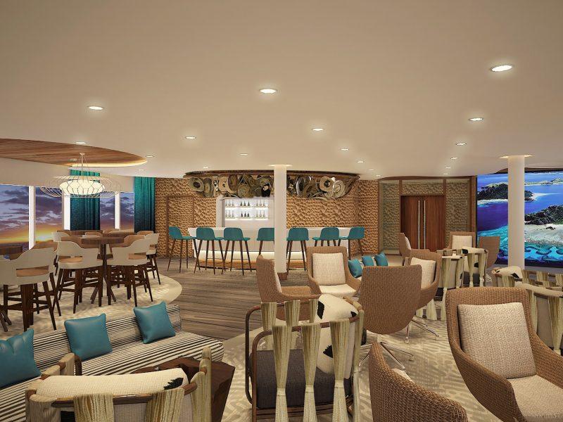 Galapagos-Kreuzfahrt Flora - Discovery Lounge