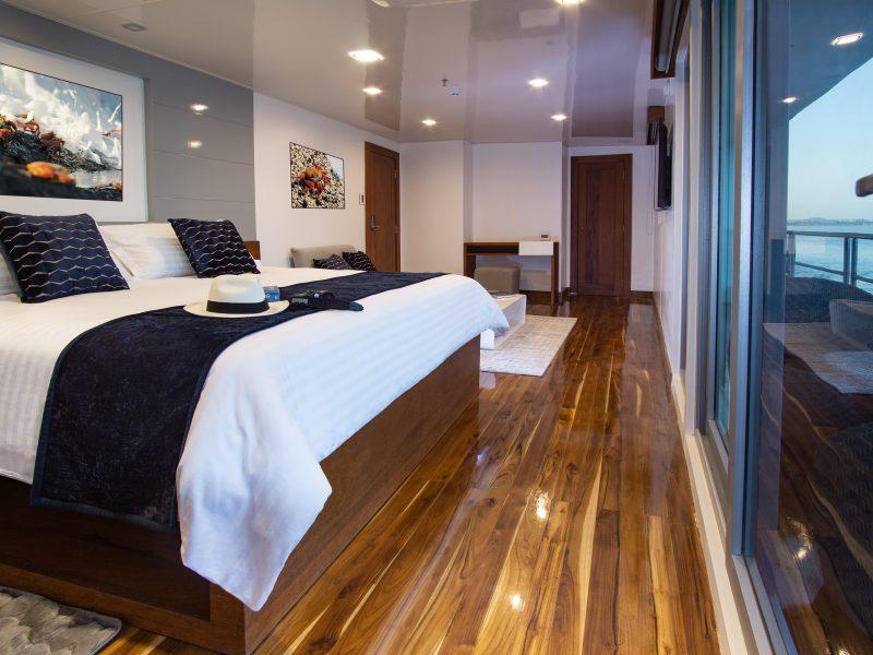 Galapagos-Kreuzfahrt Infinity - Doppelbett-Suite