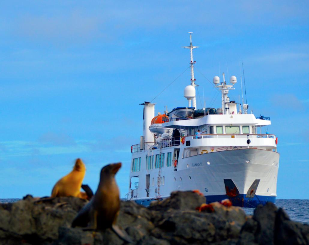 Galapagos-Kreuzfahrt Isabela II - Expeditionsschiff
