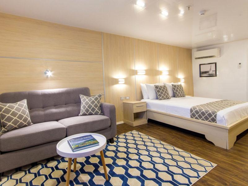 Galapagos cruise Solaris Suite