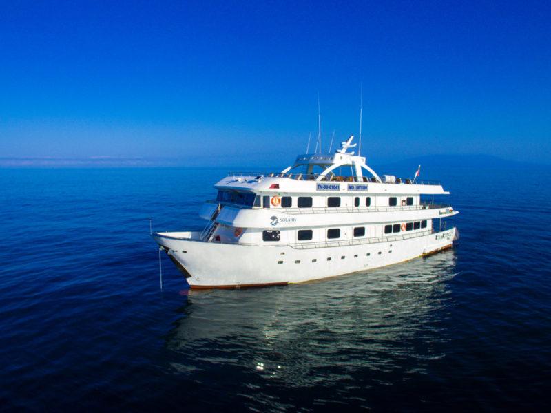 Galapagos cruise Solaris Yacht