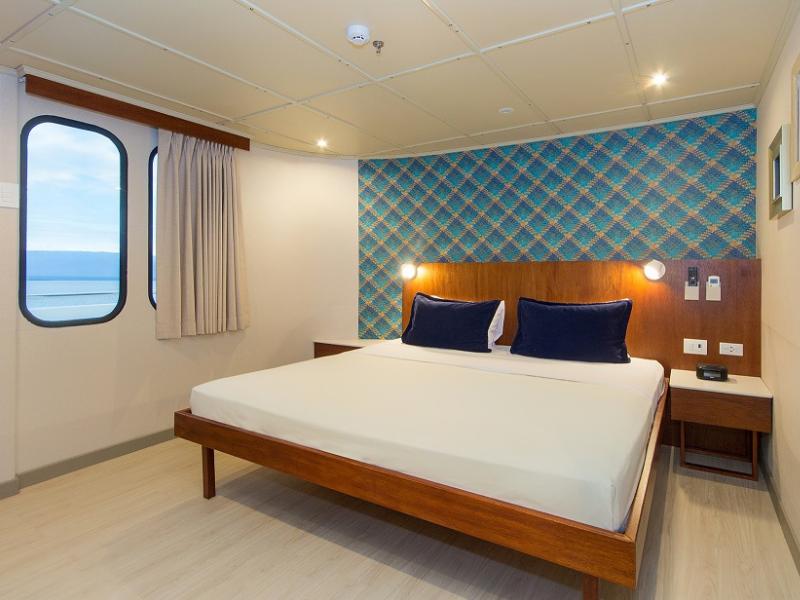 Galapagos cruise Tip Top V cabin