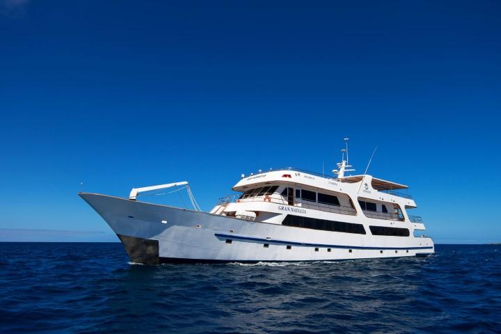 Galapagos Cruise Odyssey ship - Exterior