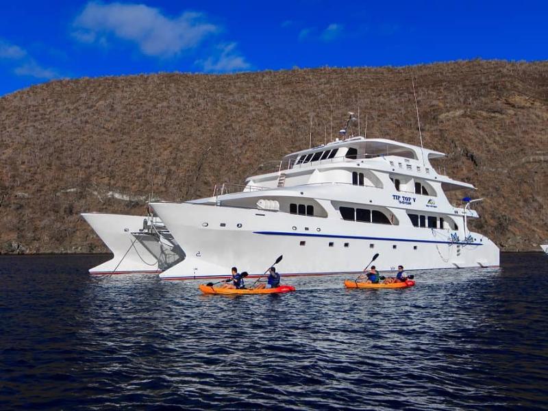Galapagos cruise Top Top V Catamaran