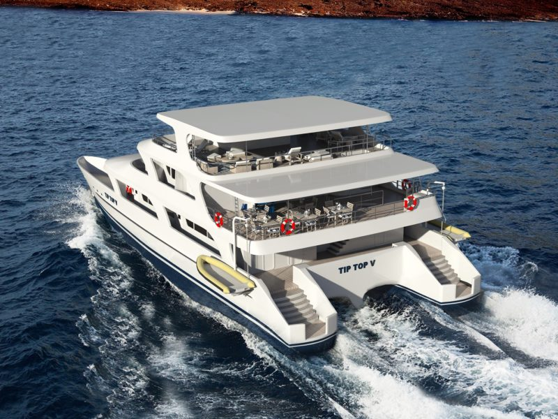 Die Galapagos-Kreuzfahrt Tip Top V bingt Sie im Luxus zu den Galapagos-Inseln mit Galapagos-Pro
