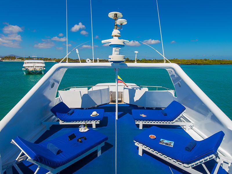 Neue Tauchsafari auf der Galapagos-Kreuzfahrt Blue Spirit Sonnendeck 2 mit Galapagos-Pro
