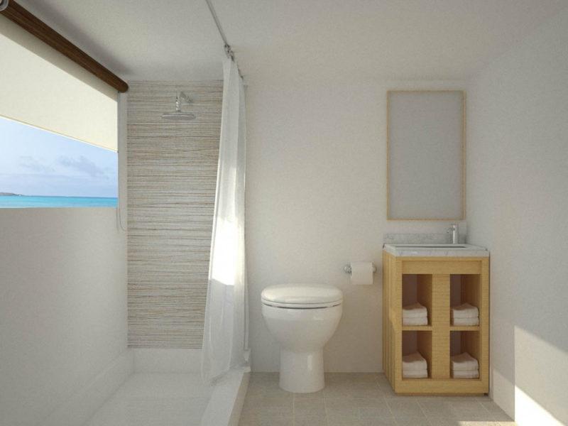 Galapagos-Kreuzfahrt Calipso Badezimmer bei Galapagos Pro