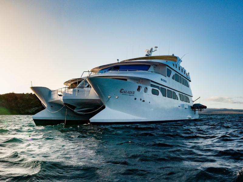 Die Galapagos Kreuzfahrt EcoGalaxy bei Galapagos Pro