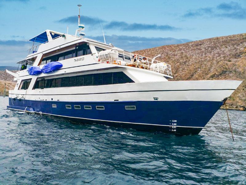 Die Galapagos Kreuzfahrt Bonita Yacht bei Galapagos Pro