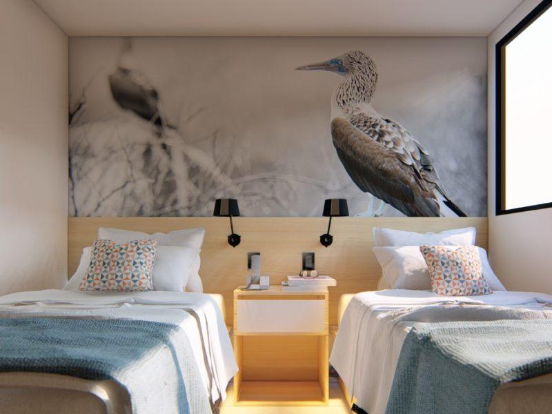 Galapagos-Kreuzfahrt Bonita Doppelzimmer bei Galapagos Pro